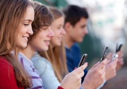 今天的青少年在哪里得到他们的消息