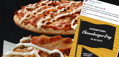 如何在周三从Domino's获得免费比萨饼