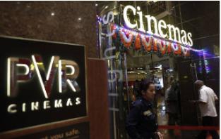 由于NCLT批准合并SPI Cinema PVR上涨了2%