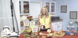Colleen Burns在电视博客的提示中与忙碌的妈妈分享建议