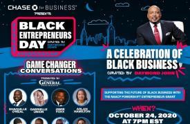 600万观众参加了由Chase主持的首届黑人企业家日